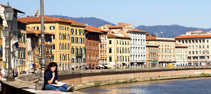 Italian language school in Pisa