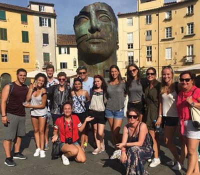 Italian language course in Italy