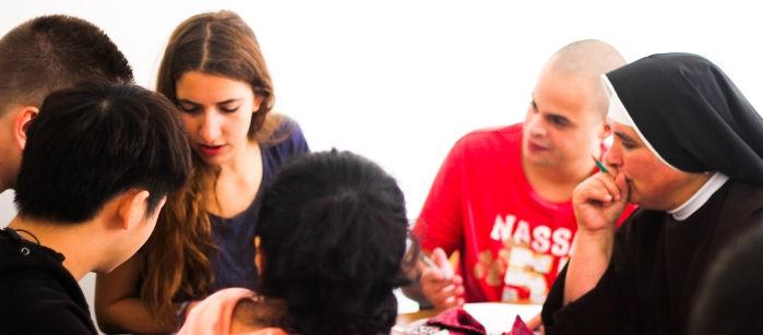 Italian language group courses
