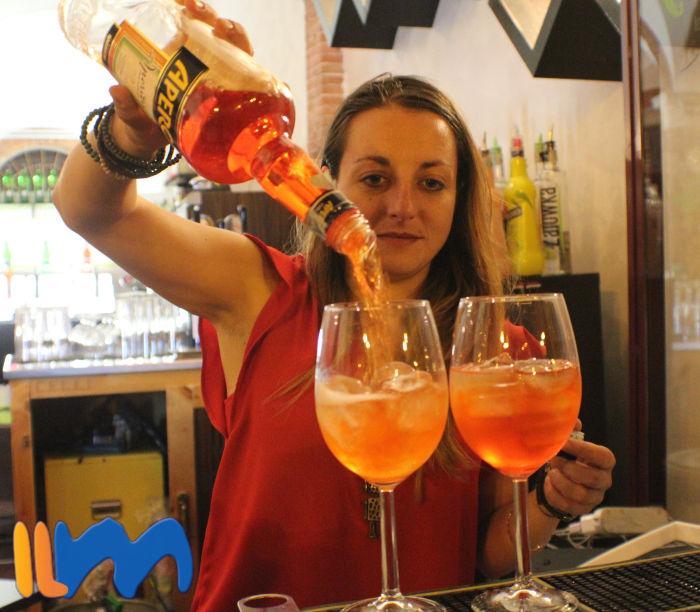 Spritz Aperol cocktail tipico italiano