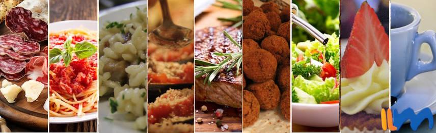 ¿Qué hay en un verdadero menú italiano?