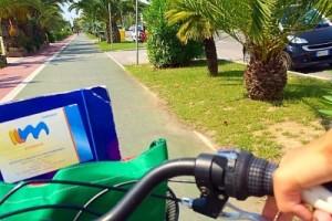 tour in bicicletta città di Viareggio