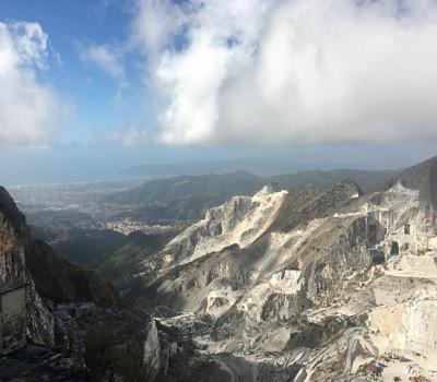 Gita alle cave di marmo di Carrara