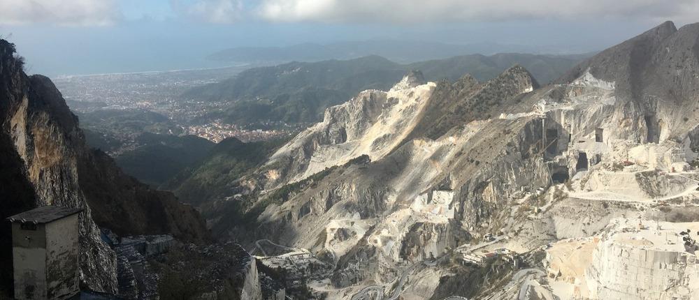 Que faire à Pise: Excursion aux carrières de marbre de Carrare
