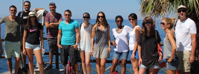 visites sur le terrain Cinque Terre